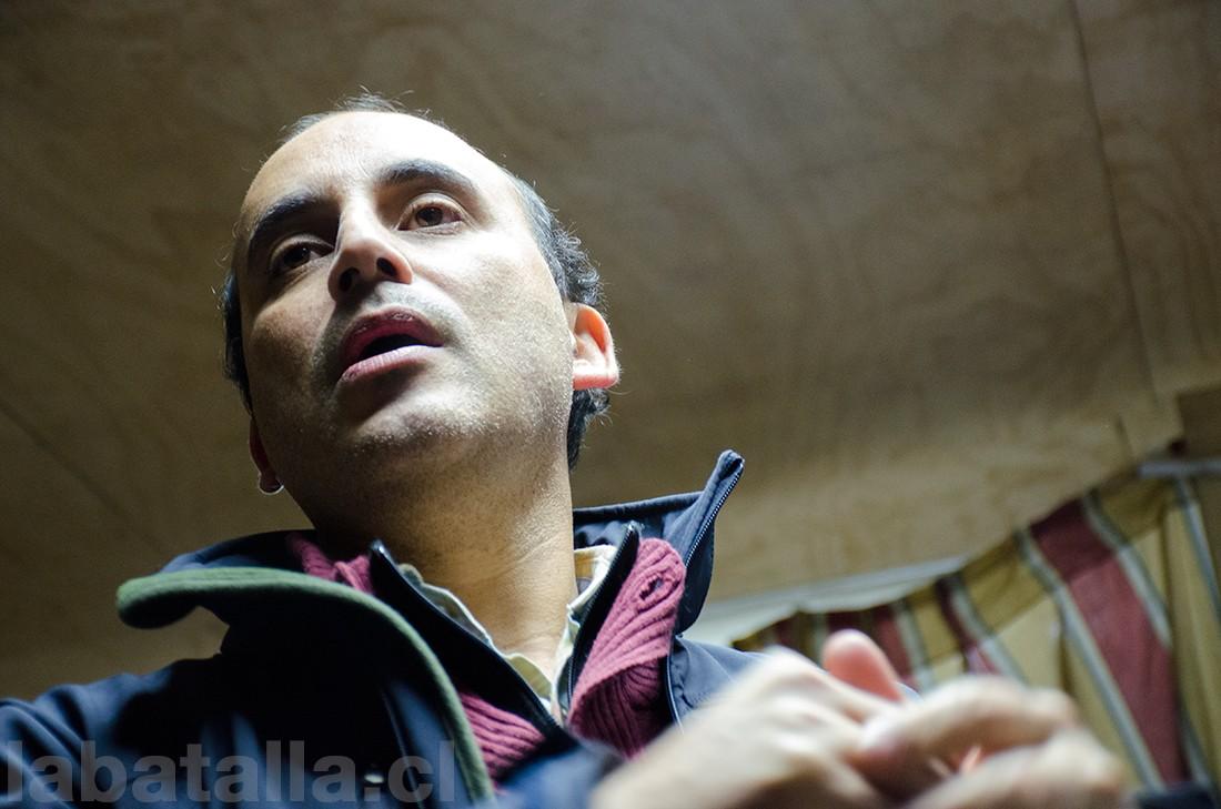 El director de vialidad de la Región Metropolitana, Claudio Aravena.