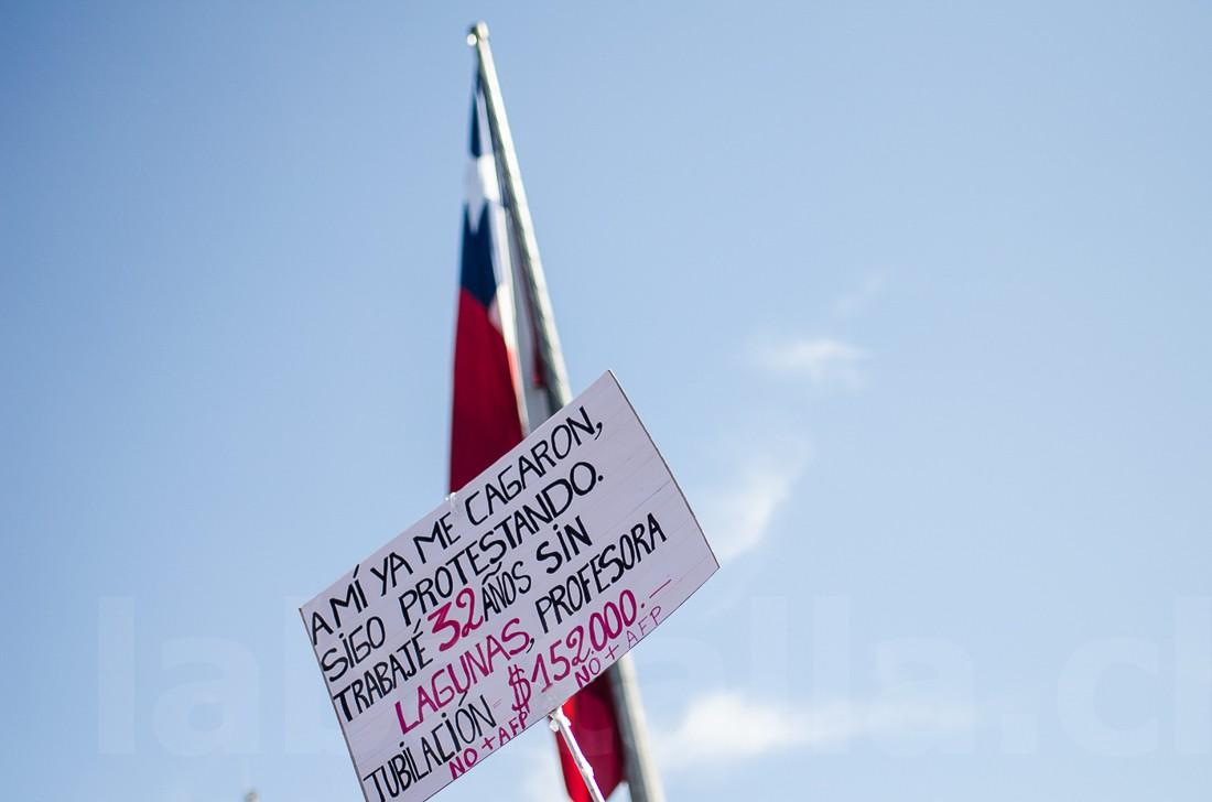 21 de agosto: Imágenes de la multitudinaria marcha contra las AFP
