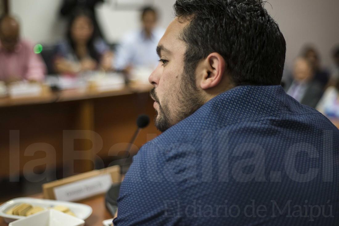 El concejal Gonzalo Ponce.