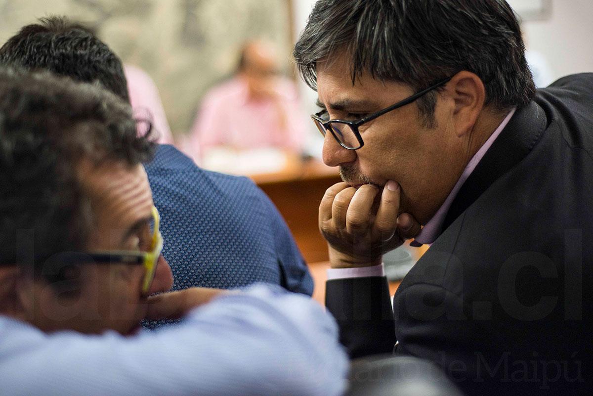 Abraham Donoso (DC) informó diez solicitudes realizadas, aunque advirtió que se reservaba información de gestiones en proceso.
